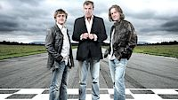 Moderátoři Richard Hammond, Jeremy Clarkson a James May