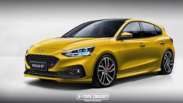 Ford Focus ST IV. generace – ilustrace