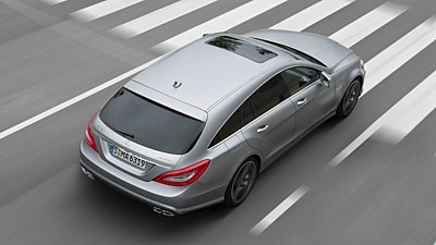 Mercedes-Benz CLS 63 AMG Shooting Brake (2012)