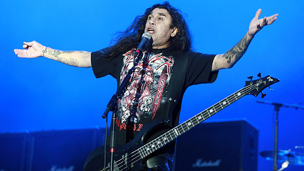Tom Araya ze skupiny Slayer