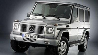 Mercedes-Benz G po faceliftu