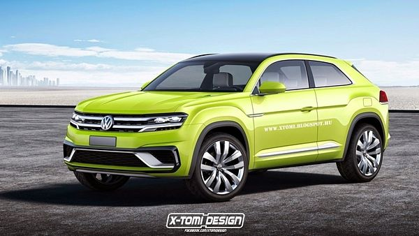Volkswagen Cross ShootingBrake GTE Concept