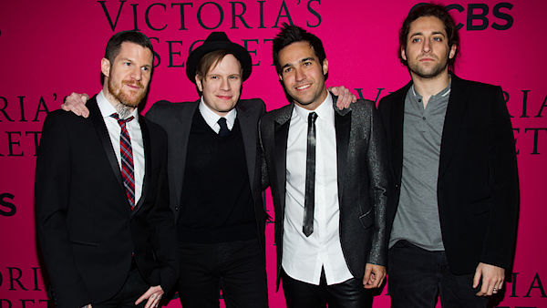 Americká kapela Fall Out Boy.