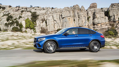 Mercedes-Benz GLC Coupé (2016)