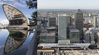 Crossrail Place od Foster + Partners