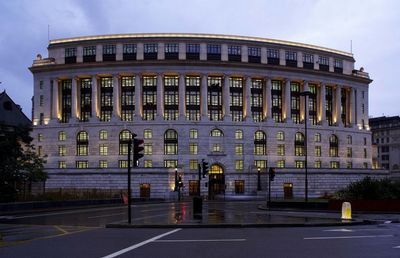 Unilever House - London, UK, architekt Kohn Pedersen Fox, Developer: Stanhope plc, Engineers: Arup