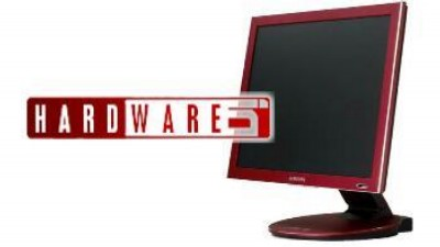 "17"" LCD monitor Samsung SyncMaster 173P Red."