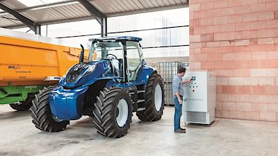 New Holland Methane Power Concept