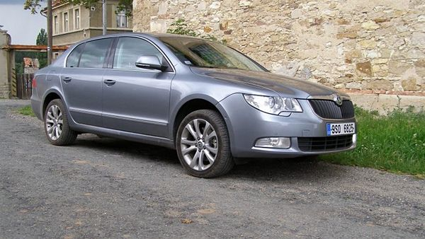 Škoda Superb 2,0 TDI 4x4