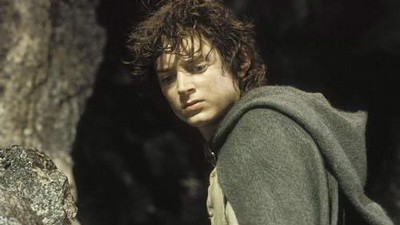 Elijah Wood ve filmu Pán prstenů: Návrat krále (The Lord of the Rings: The Return of the King).