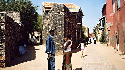 Ostrov Goree. Senegal