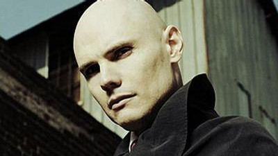 Billy Corgan ze skupiny Smashing Pumpkins