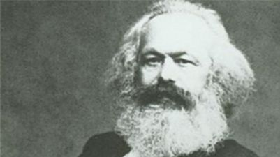 Karel Marx na obalu knihy The Portable Karl Marx
