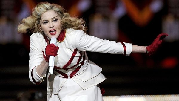 Madonna na MDNA World Tour v Texasu.