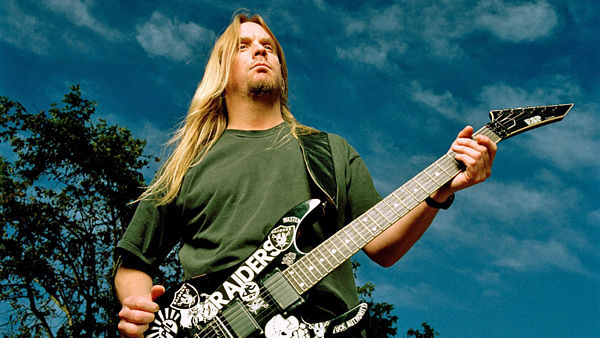 Kytarista Slayer Jeff Hanneman