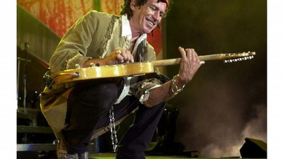 Kytarista skupiny Rolling Stones Keith Richards