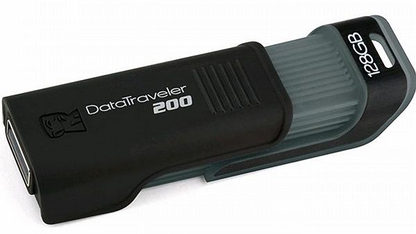 USB Flash disk Kingston DataTraveler 200 s extrémní kapacitou 128 GB