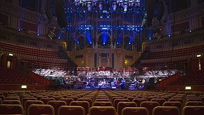 Royal Albert Hall - interiér