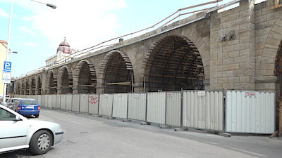 The completion of the reconstruction is estimated at the end of 2019.