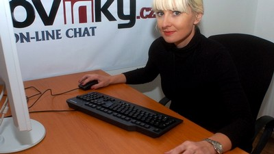 Barbara Nesvadbová na on-line chatu