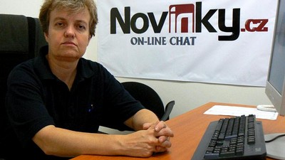 Dana Drábová na on-line chatu