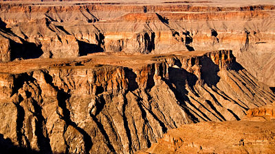 Fish River Canyon. Namibie.