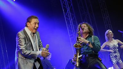 Karel Gott na festivalu Rock For People