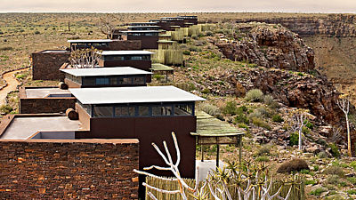 Fish River Lodge. Fish River Canyon. Namibie
