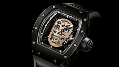 Richard Mille RM 52-01 Skull Tourbillon