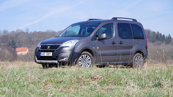 Peugeot Partner Tepee Outdoor 1.6 HDi (2016)