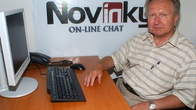 Jan Veleba na on-line chatu