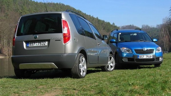 Škoda Roomster Scout