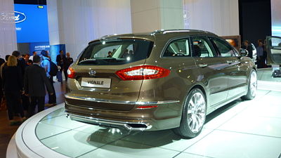 Ford Mondeo Vignale (koncept, 2013)