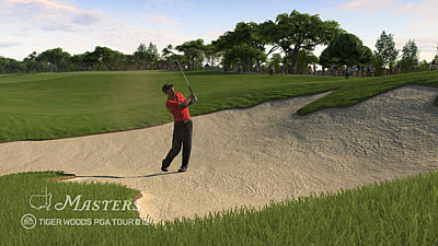 Ukázka ze hry Tiger Woods PGA TOUR 12: The Masters