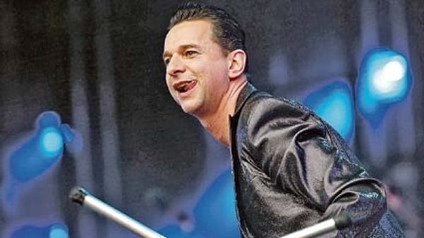 Zpěvák Depeche Mode David Gahan