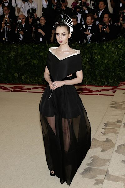 Herečka Lily Collins