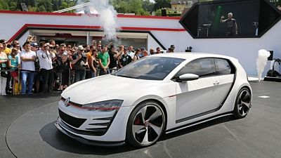 VW Golf Design Vision GTI (studie, 2013)