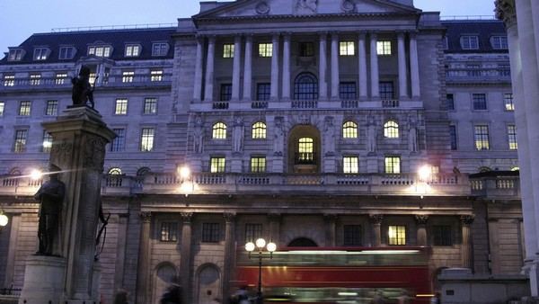 Sídlo Bank of England