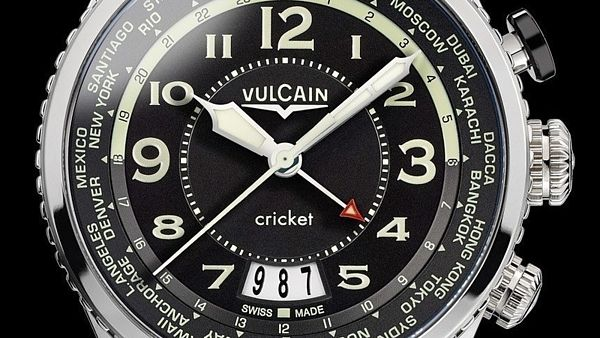 Vulcain Aviator Cricket Alarm
