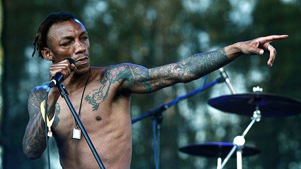 Tricky na festivalu Rock for People
