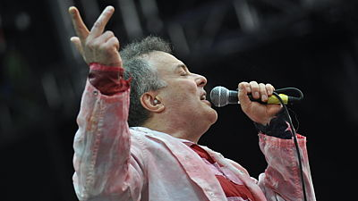 Jello Biafra (US) na festivalu Rock for People
