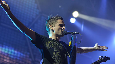 Muse (GB) na festivalu Rock for People