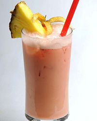 Strawberry Piňa Colada