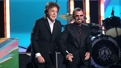 Paul McCartney a Ringo Starr