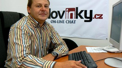 Jiří Pácal na on-line chatu