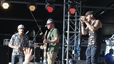 Hollywood Undead na festivalu Rock For People