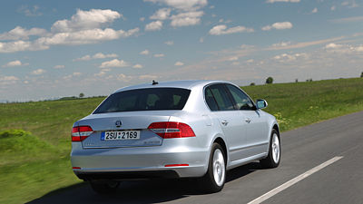 Škoda Superb (2013)