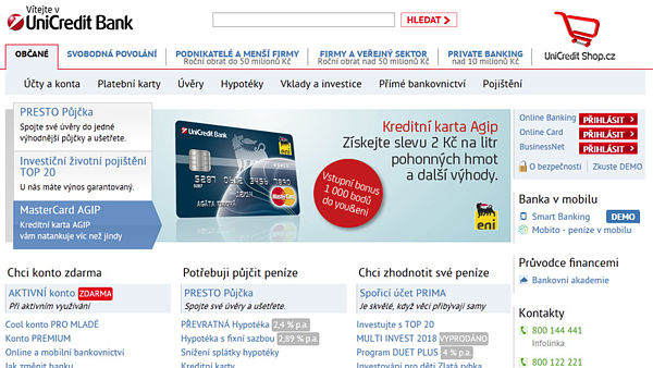 Web UniCredit Bank