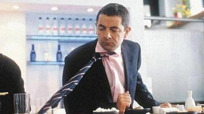 Rowan Atkinson ve filmu Johny English
