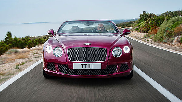 Bentley Continental GT Speed Convertible (2013)